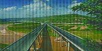 高速路全景图