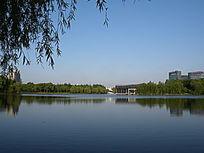 上海大宁灵石公园南湖