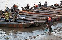 抚远县渔港渔船