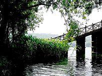 杭州西湖毛家埠