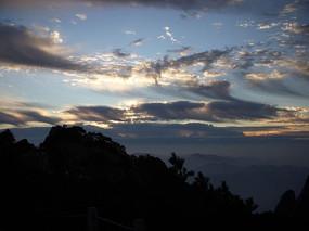 黄山日出风景