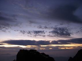 黄山日出云海