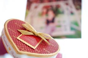 婚礼现场道具礼盒