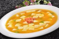 蟹黄烧豆腐