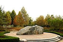 园林景观中的园林石