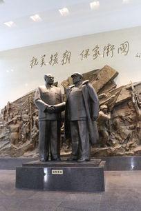 抗美援朝纪念馆雕塑