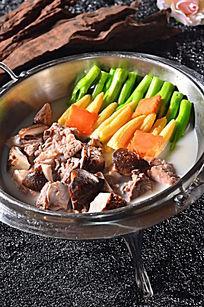 咸骨玉米芥菜煲