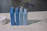 方形花瓶陶瓷摄影图