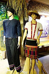 黎族服装展示