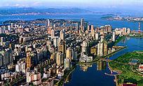 厦门市空拍风景
