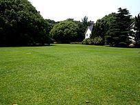 大草坪边小别墅