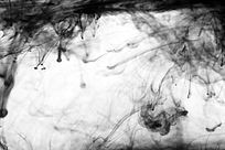 狂舞的水墨背景素材
