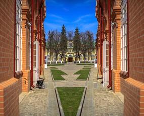 谢尔盖耶夫修道院圣母安息大教堂通道