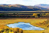额尔古纳湿地湖泊