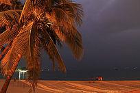 大东海海滨夜景