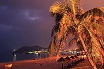 大东海海滨之夜