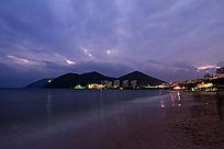 大东海宁静的夜空