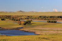 额尔古纳湿地之秋