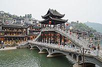 凤凰古城景区景点特写图片