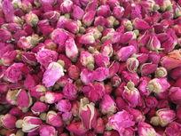 粉红色的玫瑰花干花