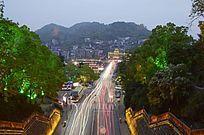 湖南 凤凰古城夜景图片