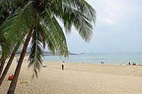 三亚大东海沙滩风光