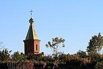 黑瞎子岛俄方小教堂