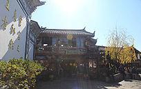 云南丽江古城标志