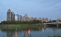 郑东新区源景楼夜景