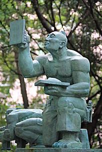 装修的人物雕塑