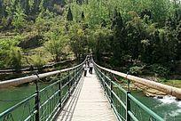 白水河吊桥