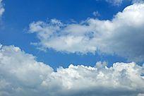 高清拍摄蓝天白云素材