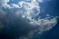 蓝天白云素材高清拍摄
