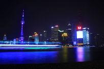 黄浦江夜景