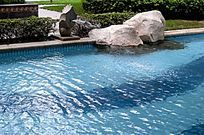 喷水游泳池
