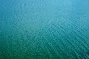清澈的湖水水纹背景素材