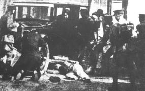 918事变时日军在沈阳进行大屠杀