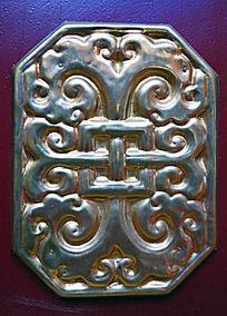 呼伦贝尔蒙古族金属装饰图案