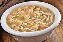 明炉菌汤饺子