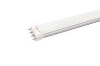 乳白罩LED横插灯管