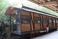 古老的火车模型