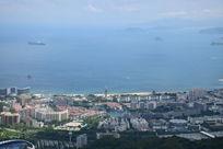 海边城市建筑风光