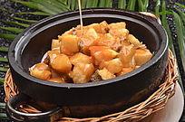 土豆焖鳕鱼