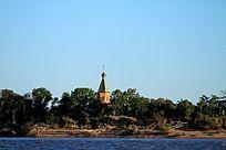 黑瞎子岛俄罗斯小教堂
