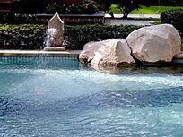 游泳池喷水口