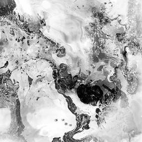 黑白素描裝飾畫