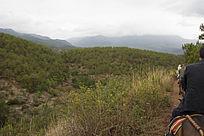茶马古道山丘