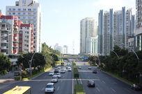 厦门市东渡路的交通