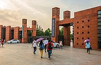 郑州大学大门