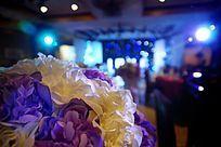 梦幻温馨的婚礼现场高清拍摄